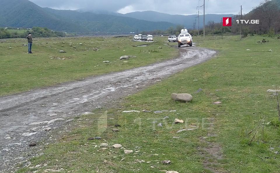 Պանկիսիի կիրճ, Բիրկիան գյուղ ոստիկանները մտցրել են հավելյալ ուժեր