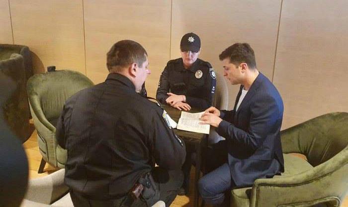 Владимира Зеленского оштрафовали за нарушение избирательного кодекса