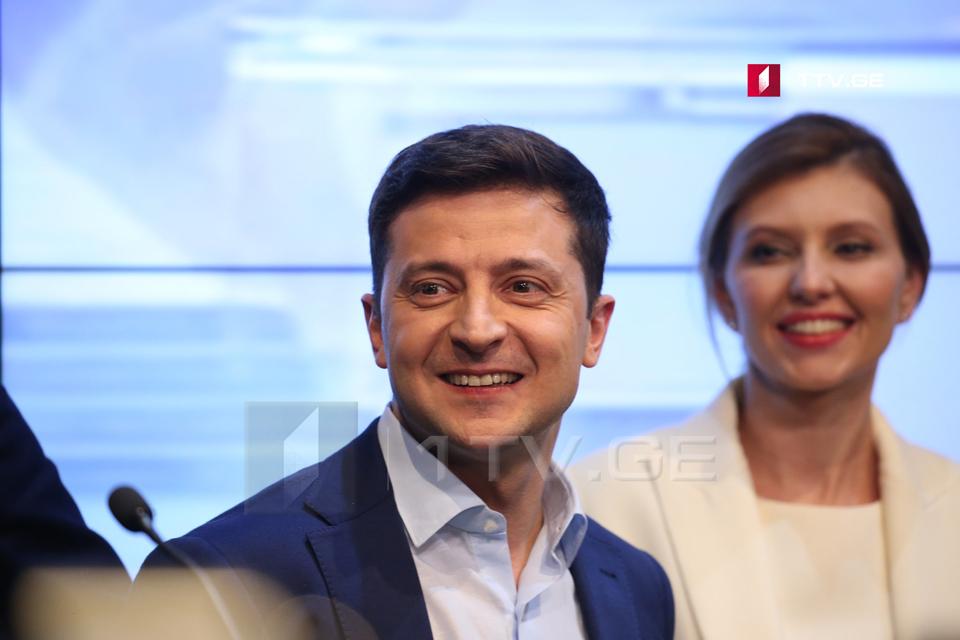 Владимир Зеленский - Сейчас мы не думаем предлагать должность Саакашвили