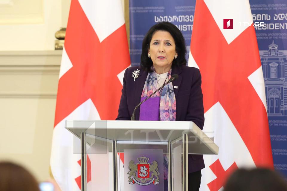 Саломе Зурабишвили - Грузия успешно завершит путь в НАТО