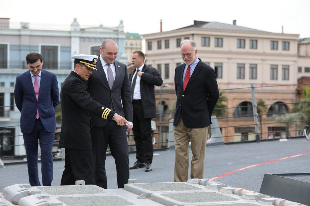 Այսօր Վրաստան-ԱՄՆ հարաբերությունները ամենաբարձր նշանակետում են և մենք հպարտանում ենք դրանով. Մամուկա Բախտաձե