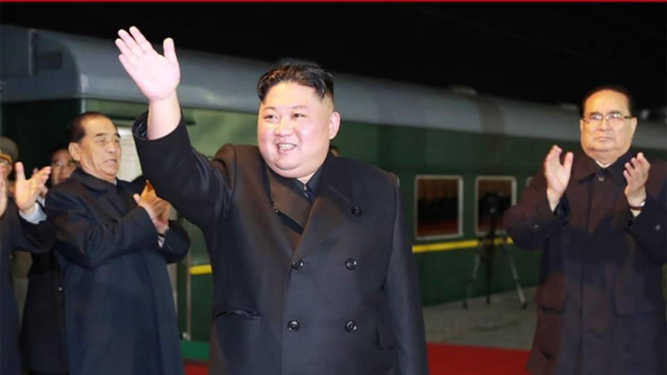 Ким Чен Ын Урыстәылaҟa ихaтә дәыҕбaлa ддәықәлеит