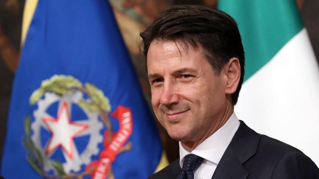 იტალიის პრემიერ-მინისტრმა, ჯუზეპე კონტემ ვლადიმირ ზელენსკის მისალოცი წერილი გაუგზავნა