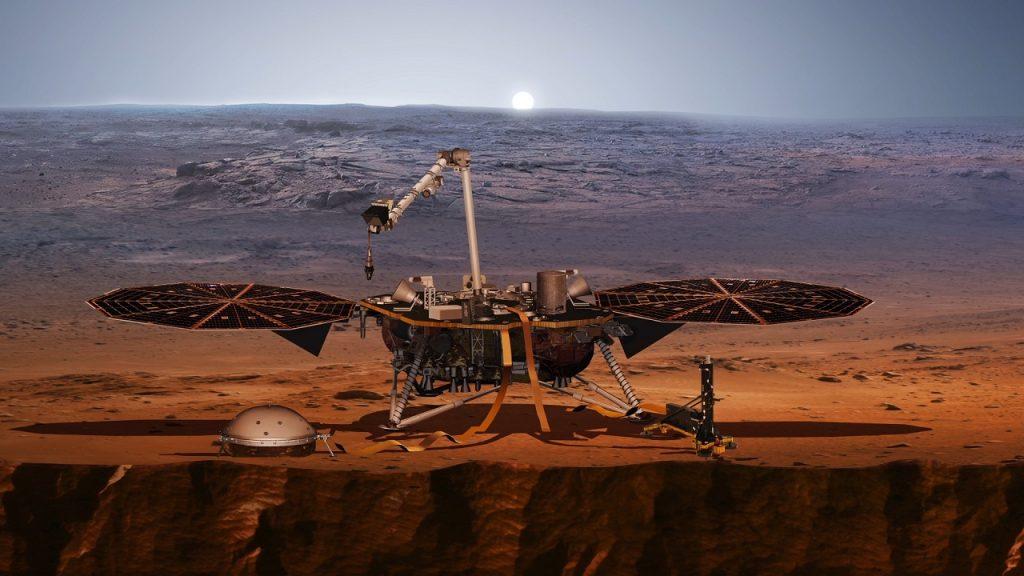 """ხომალდმა """"ინსაითმა"""" მარსზე მიწისძვრა დააფიქსირა"""