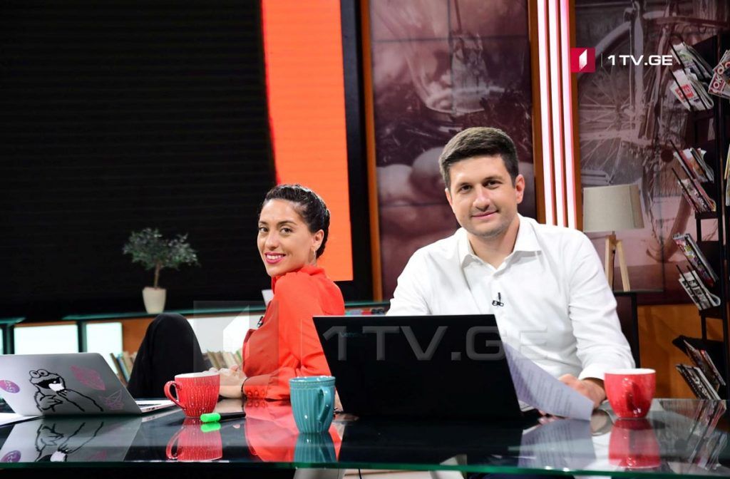 Elene Kalandadze and Gaga Abashidze to be presenters of live transmission of 2019 ESC on First Channel