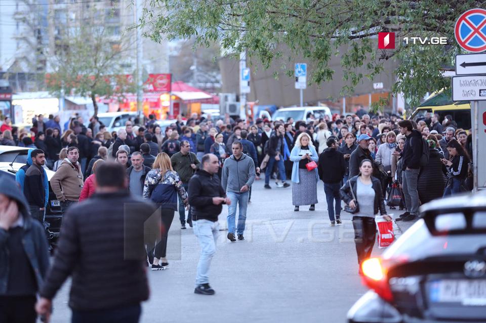 Что происходит на улицах Тбилиси после остановки первой линии метро [фото]