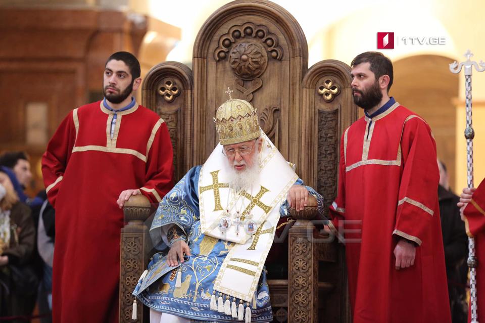 ბოდბეში, წმინდა ნინოს სახელობის ახალ ტაძარში პირველ წირვას ილია მეორე ჩაატარებს