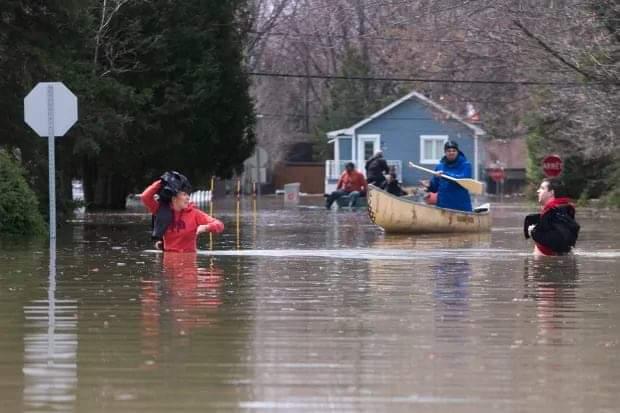 კანადაში წყალდიდობის გამო 10 000 ადამიანია ევაკუირებული