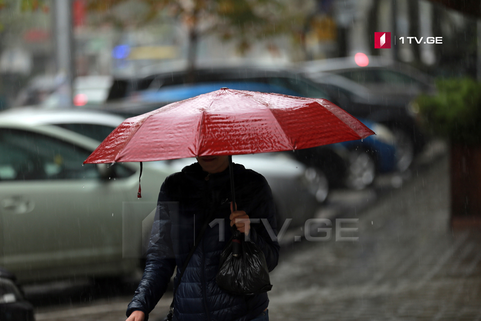 Согласно прогнозу синоптиков, сегодня ожидается дождь и снег