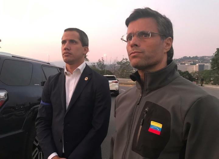 Хуан Гуайдо - Вооруженные силы Венесуэлы приняли правильное решение, они поддерживают народ и нашу Конституцию