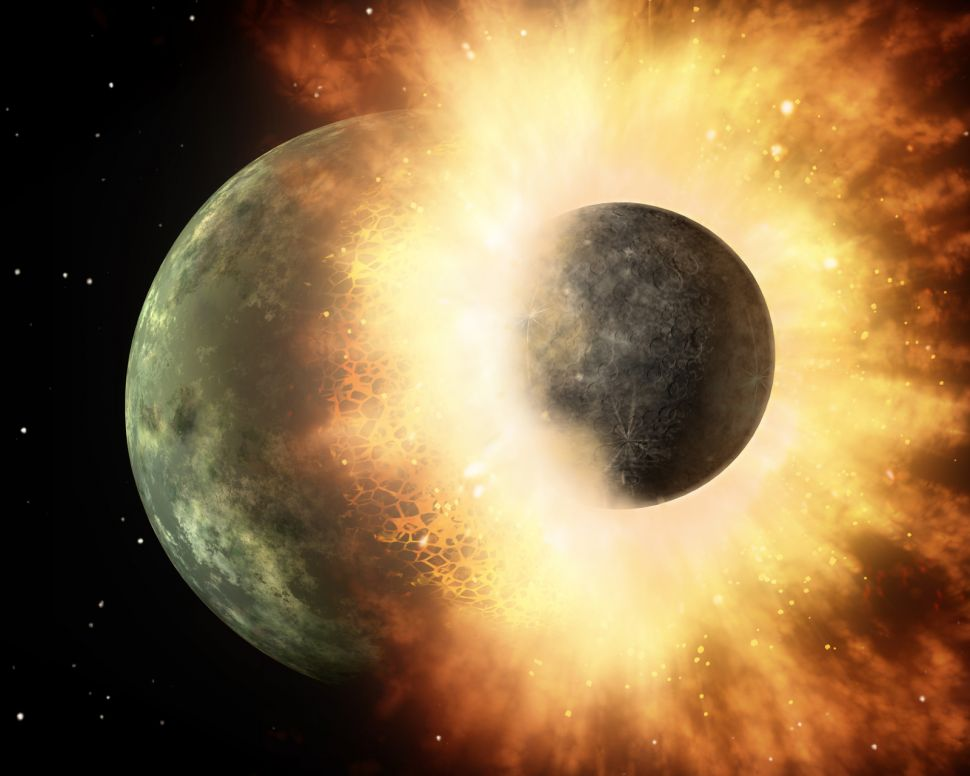 მთვარე შესაძლოა, დედამიწის მაგმის ოკეანის კოსმოსში გატყორცნის შედეგად გაჩნდა - ახალი კვლევა