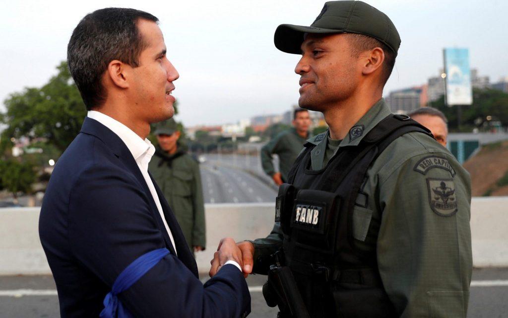 Xuan Quaido bəyan edir ki, Venesuelada hərbi çevriliş baş verməyəcək və dinc etiraz davam edəcək