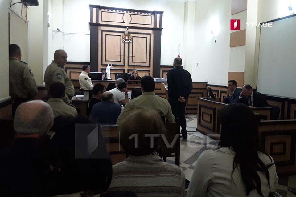 ბადრი პატარკაციშვილის მკვლელობის მომზადების საქმეზე სასამართლოში პროკურატურის მოწმე დაკითხეს