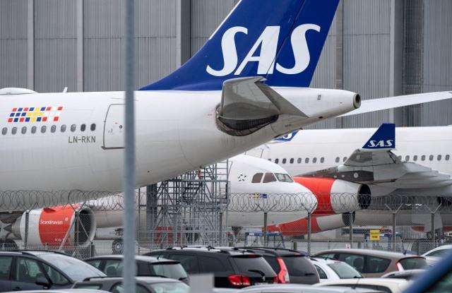 """""""სკანდინავიური ავიახაზების"""" (SAS) მფრინავების გაფიცვამ 340 ათასზე მეტი მგზავრი დააზარალა"""