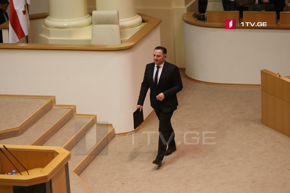 Interior Minister to address Parliament within Minister's Hour format
