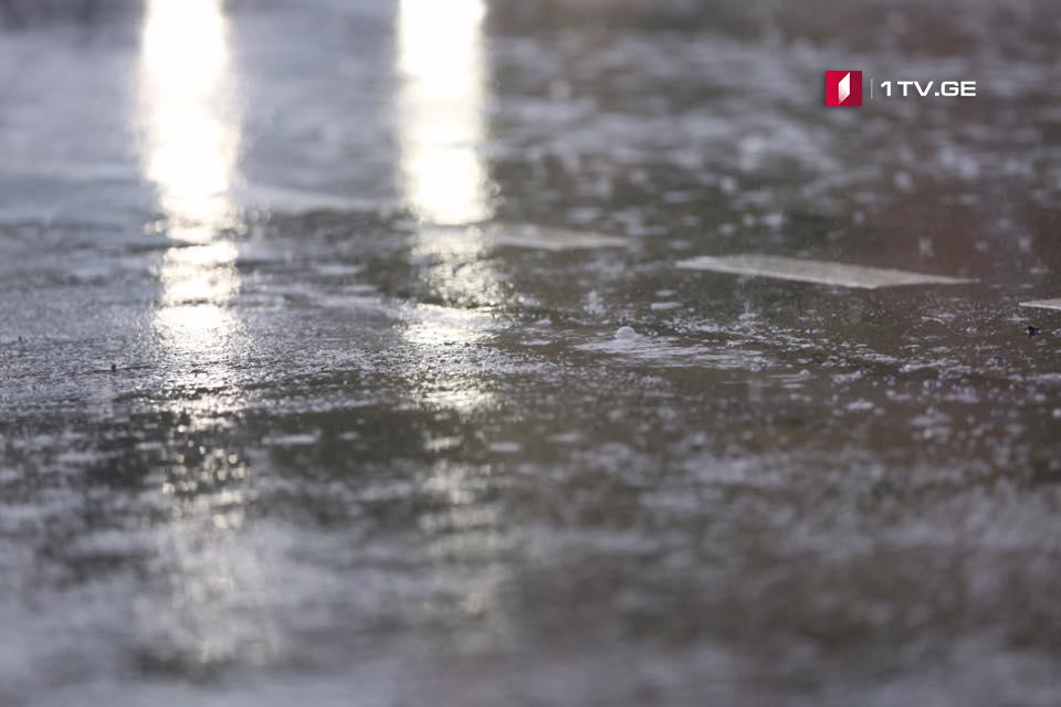 ძლიერი წვიმებისა და მდინარეების ადიდების შედეგად, თიანეთის რამდენიმე სოფელი დაზარალდა