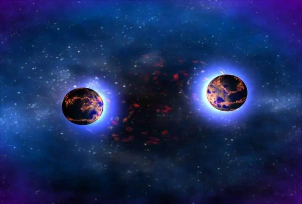 შორეულ წარსულში, მზის სისტემის სიახლოვეს ნეიტრონულ ვარსკვლავთა შეჯახება მოხდა - ახალი კვლევა