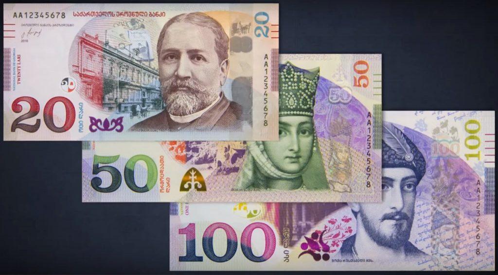 საქართველოში გამოვლენილ ყალბ ბანკნოტებში ყველაზე მეტი 100-ლარიანია