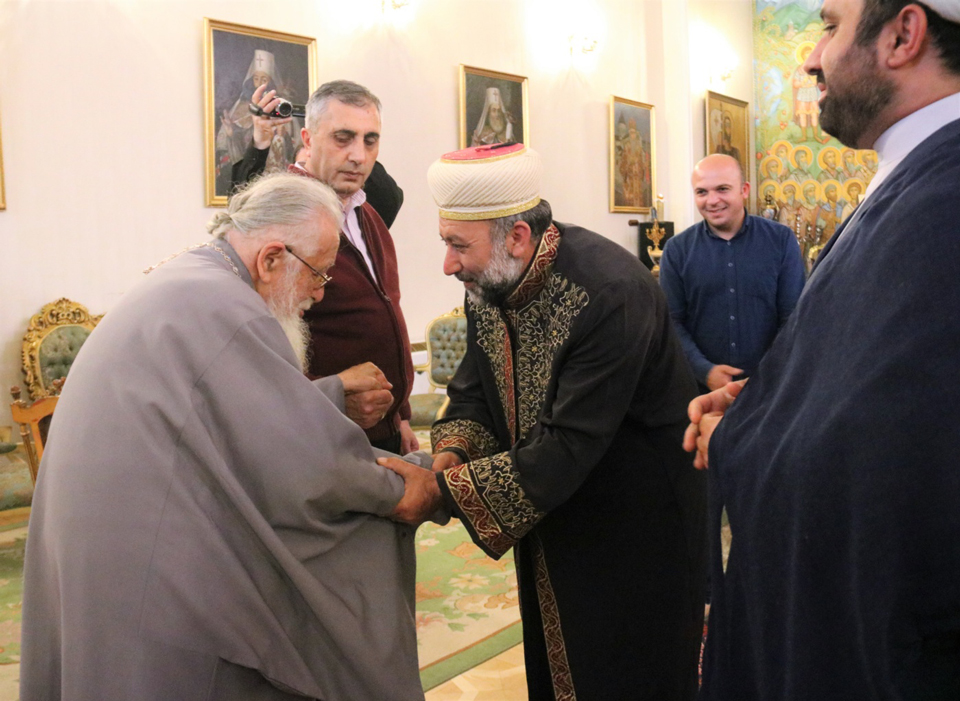 Meeting held at Georgian Patriarchate over Davit Gareja issue