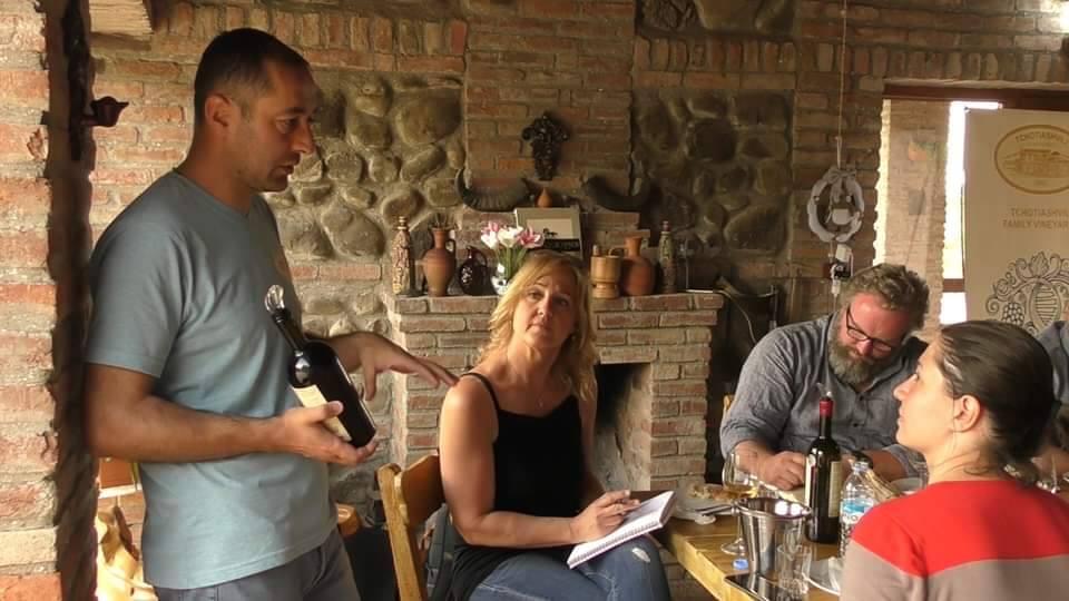 საქართველოს ამერიკიდან სომელიეები და ღვინის იმპორტიორები სტუმრობენ