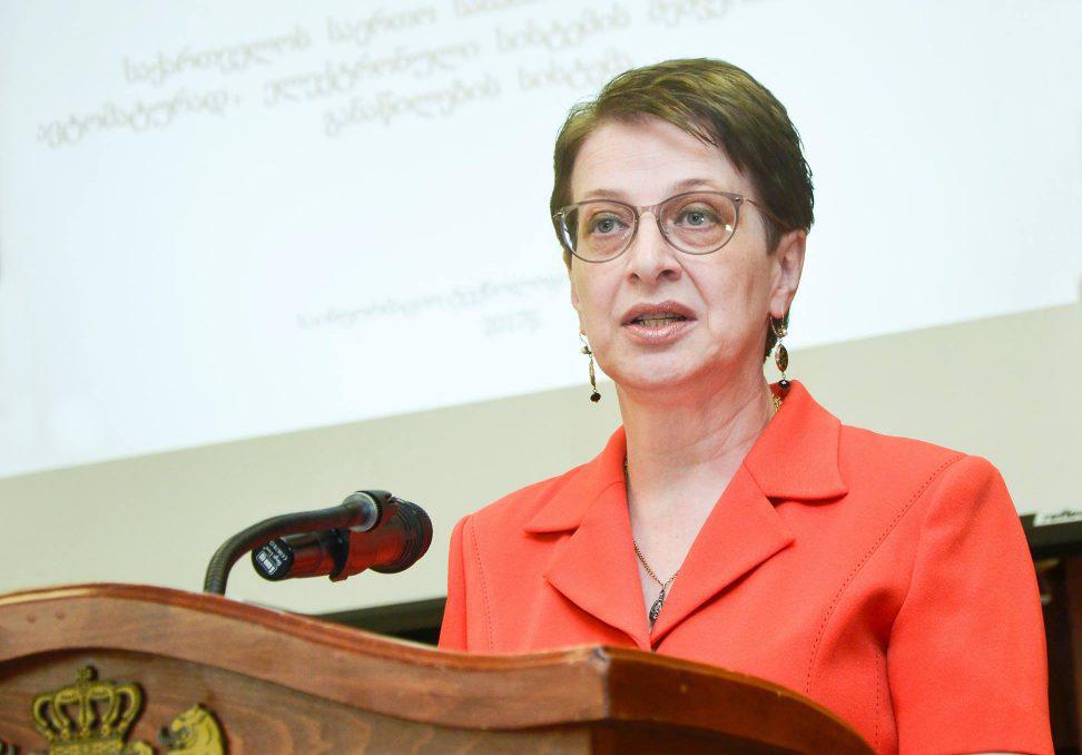ნინო გვენეტაძე თსუ-ს პრორექტორის რანგში უნივერსიტეტის სასწავლო მიმართულებას უხელმძღვანელებს