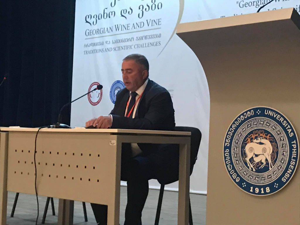 """თსუ-ში საერთაშორისო სამეცნიერო კონფერენცია """"ქართული ღვინო და ვაზი - ტრადიციები და სამეცნიერო გამოწვევები"""" გაიხსნა"""