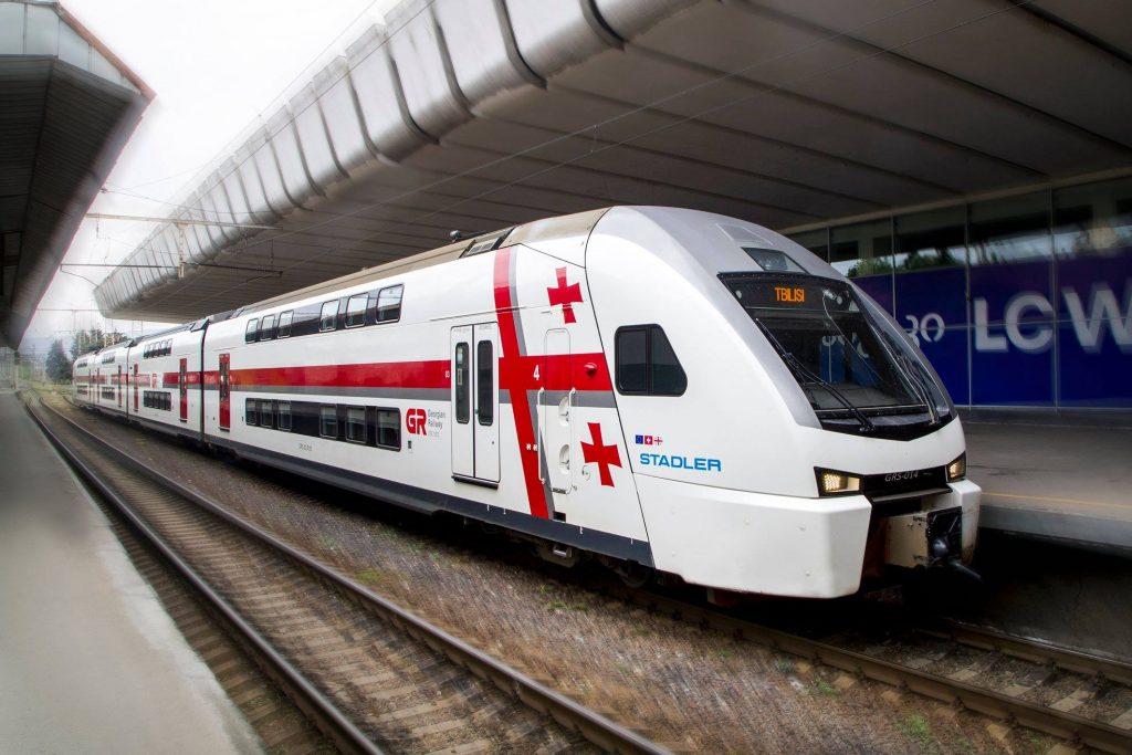 26 მაისს რკინიგზის სადგურებსა და მატარებლებში საქართველოს ჰიმნი აჟღერდება