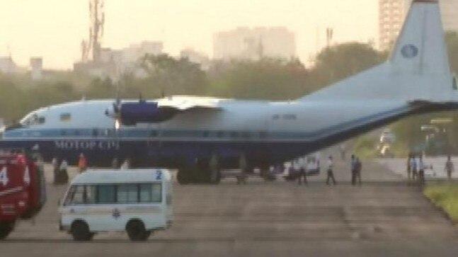 ინდოეთის სამხედრო საჰაერო ძალების მიერ დაკავებული უკრაინული სატვირთო თვითმფრინავი გაათავისუფლეს