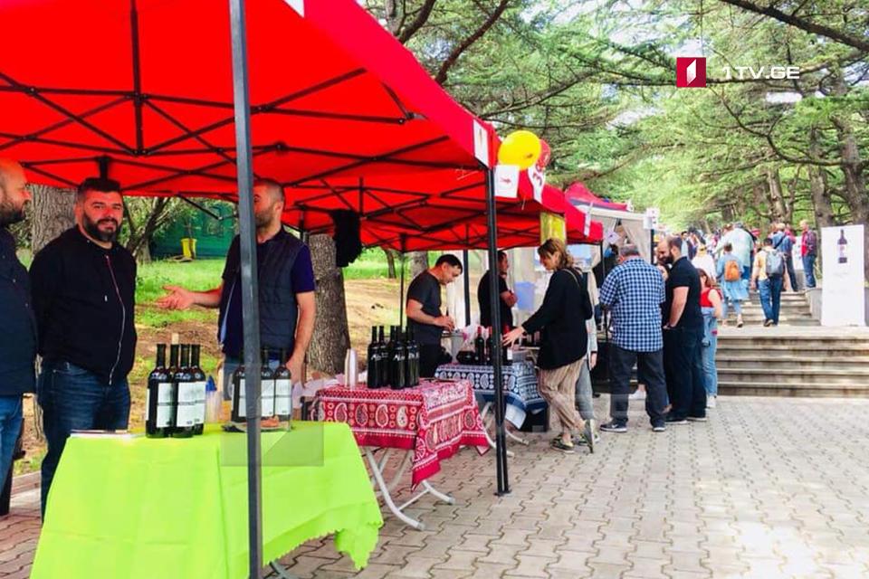 თბილისში ახალი ღვინის ფესტივალი გაიმართა