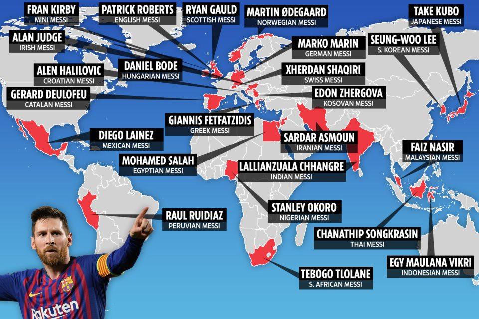 """მსოფლიოში 24 """"ახალი მესი""""თამაშობს"""