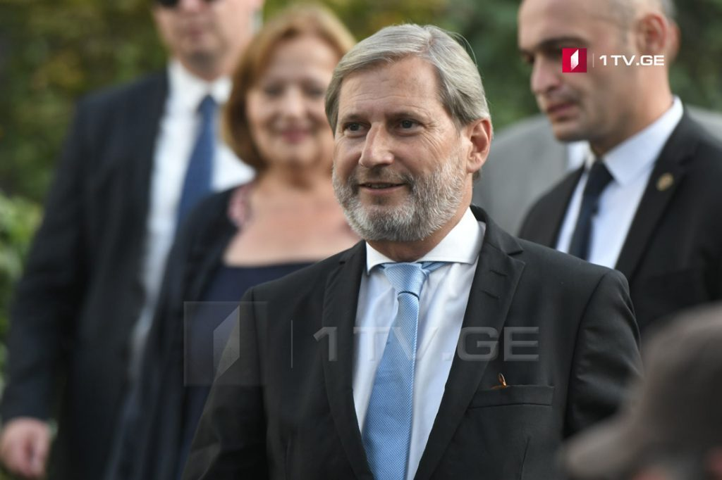 Johannes Hahn: Everything is going well with regard to Georgia's visa-free regime