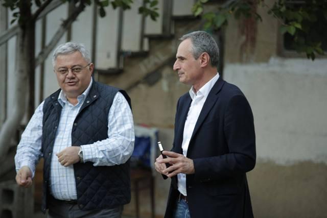 Давид Усупашвили поддерживает Шалву Шавгулидзе на промежуточных выборах на Мтацминда