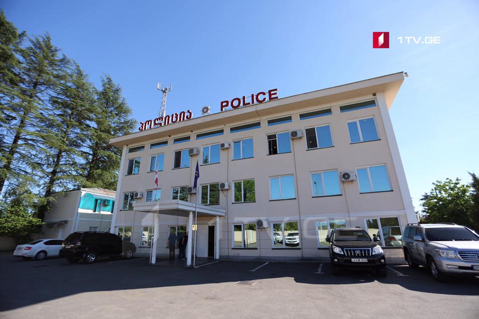 სამეგრელო-ზემო სვანეთის პოლიციამ ყაჩაღობის ფაქტზე ორი პირი დააკავა
