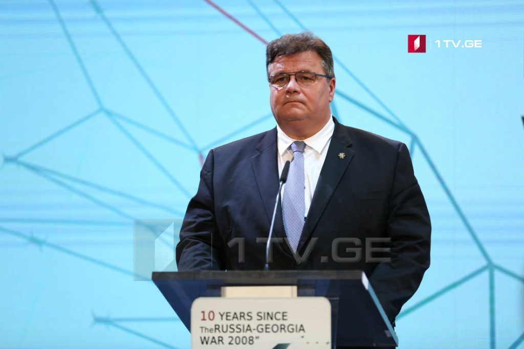 Linas Linkevičius: When document of Council of Europe speaks about the occupied regions, this is another support to Georgia's territorial integrity