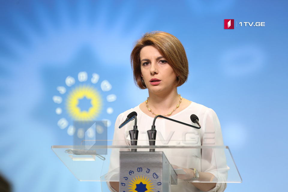 Tamar Chugoshvili: National Movement is well aware that they will lose the elections in Zugdidi, correspondingly, they are trying to introduce tension and disorder