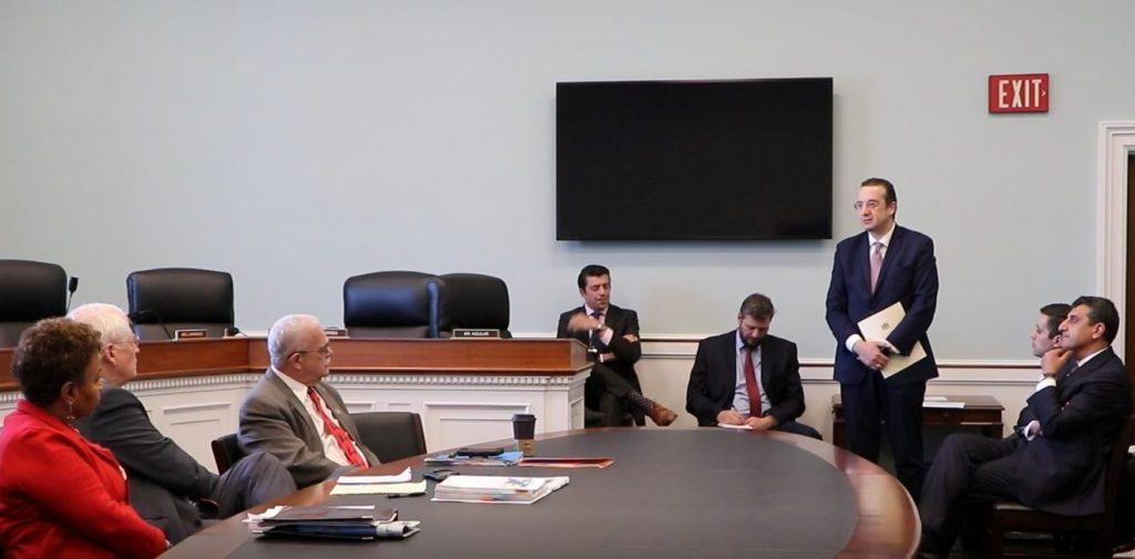 აშშ-ის კონგრესში გამართულ მოსმენაზე საქართველოს შესახებ იმსჯელეს