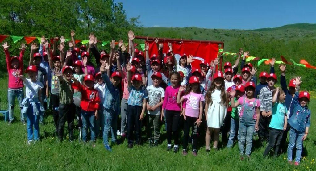 შევაჩეროთ ომი ბავშვების წინააღმდეგ - ამ სლოგანით სოფელ ხურვალეთში სკოლის მოსწავლეებისთვის ღონისძიება გაიმართა