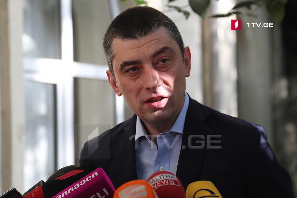 Георгий Гахария - МВД и полиция полностью обеспечат безопасную обстановку в день выборов