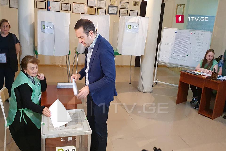 Ираклий Аласания - Я специально приехал в Тбилиси, чтобы поддержать Шалву Шавгулидзе
