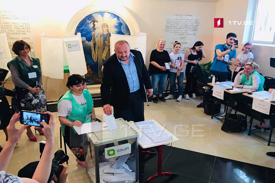 Георгий Маргвелашвили - Я проголосовал за то, чтобы закончилось политическое болото и однообразие в грузинской политике