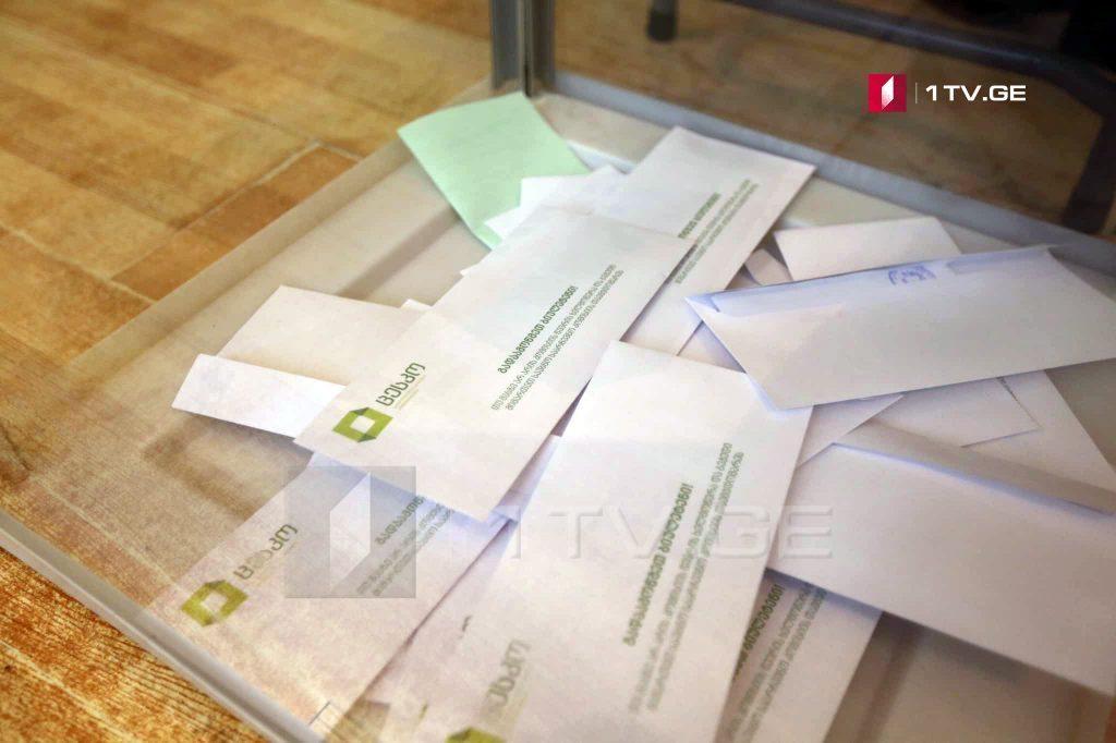 Mtasminda seçki dairəsində Parlamentin majoritar deputatını seçirlər