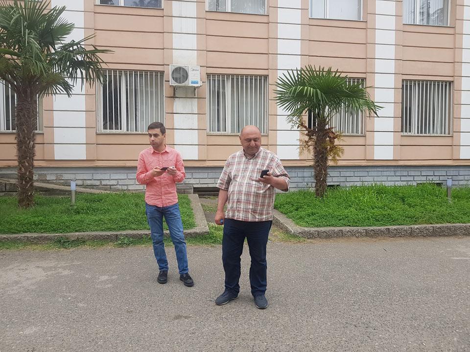 """ზესტაფონში """"თავისუფალი საქართველოს"""" დამკვირვებელი დააკავეს"""