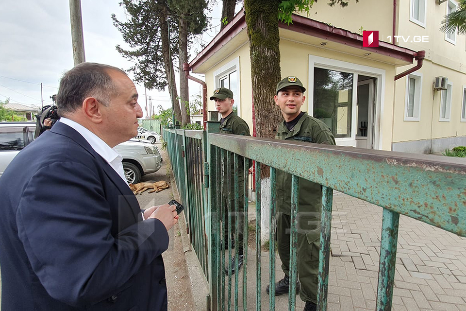 According to Koba Nakopia several supporters of National Movement detained in Zugdidi