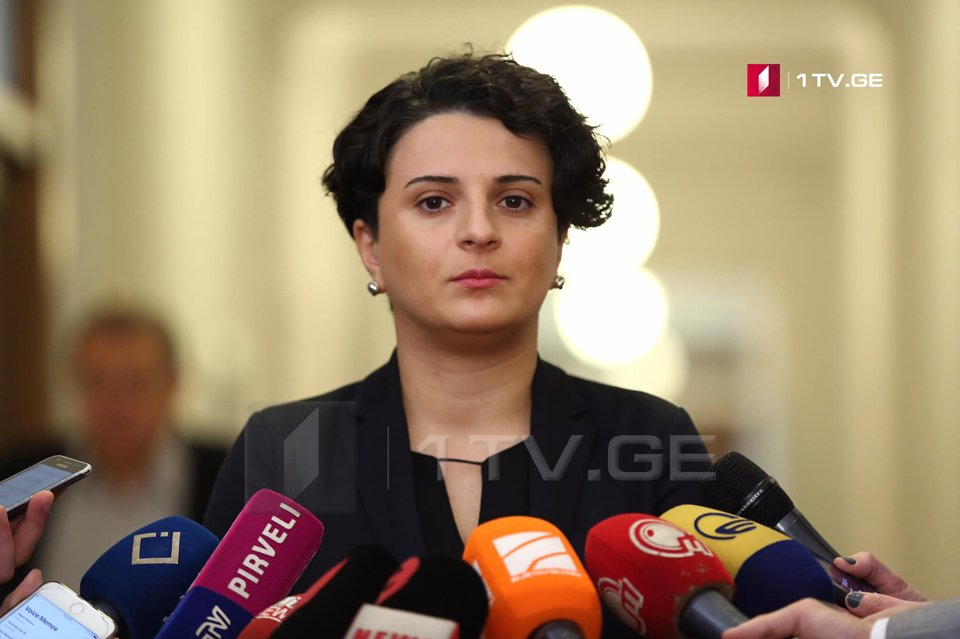 Natia Mezvrishvili: We appeal everyone to protect the law and avoid escalation of the situation, otherwise, Police will act within its mandate