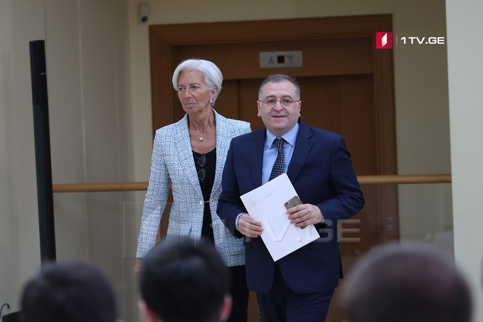 Koba Gvenetadze: visit of Christine Lagarde proves that IMF supports reforms implemented in Georgia