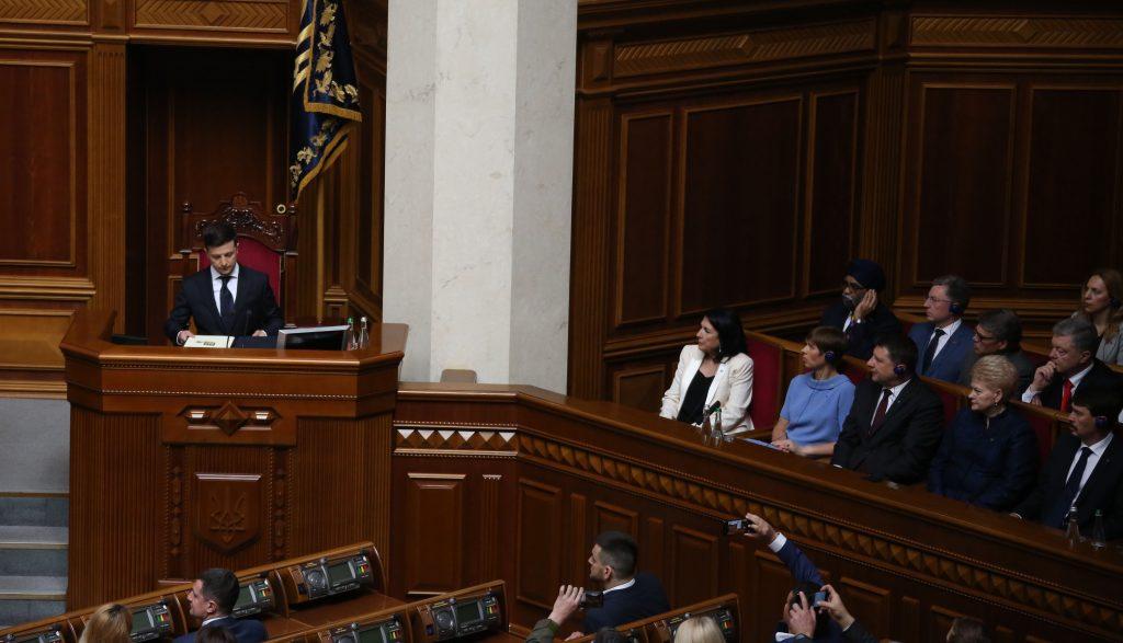 Саломе Зурабишвили присутствовала на инаугурации новоизбранного президента Украины