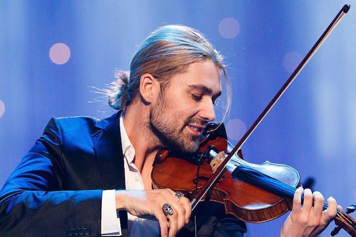 Famous violinist David Garrett will hold concert in Tbilisi