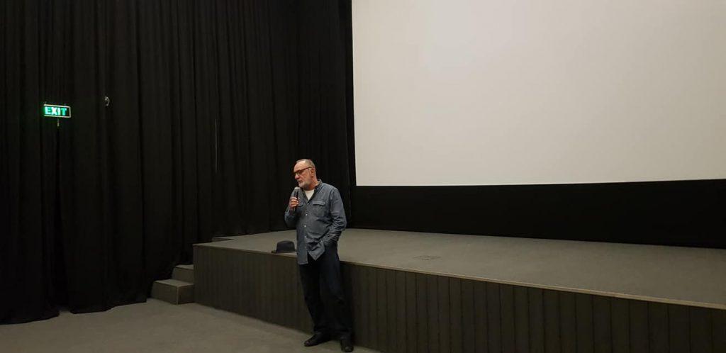 ეროვნული არქივის კინოთეატრში გოგა ხაინდრავას დოკუმენტური ფილმის ჩვენება გაიმართა