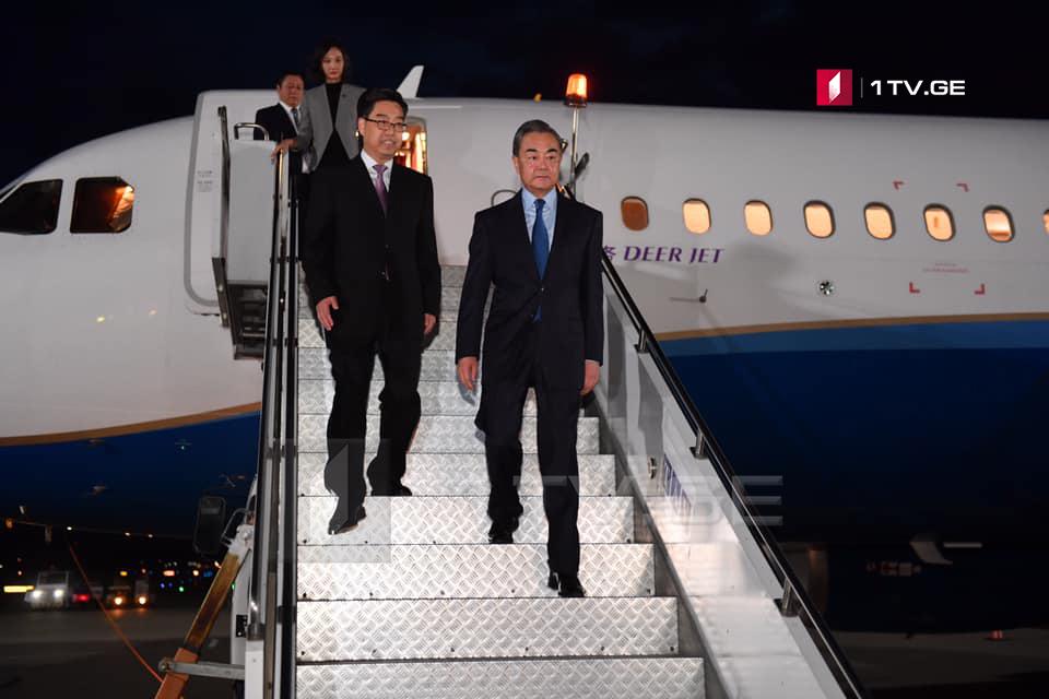 Министр иностранных дел Китая посетил Грузию с первым официальным визитом