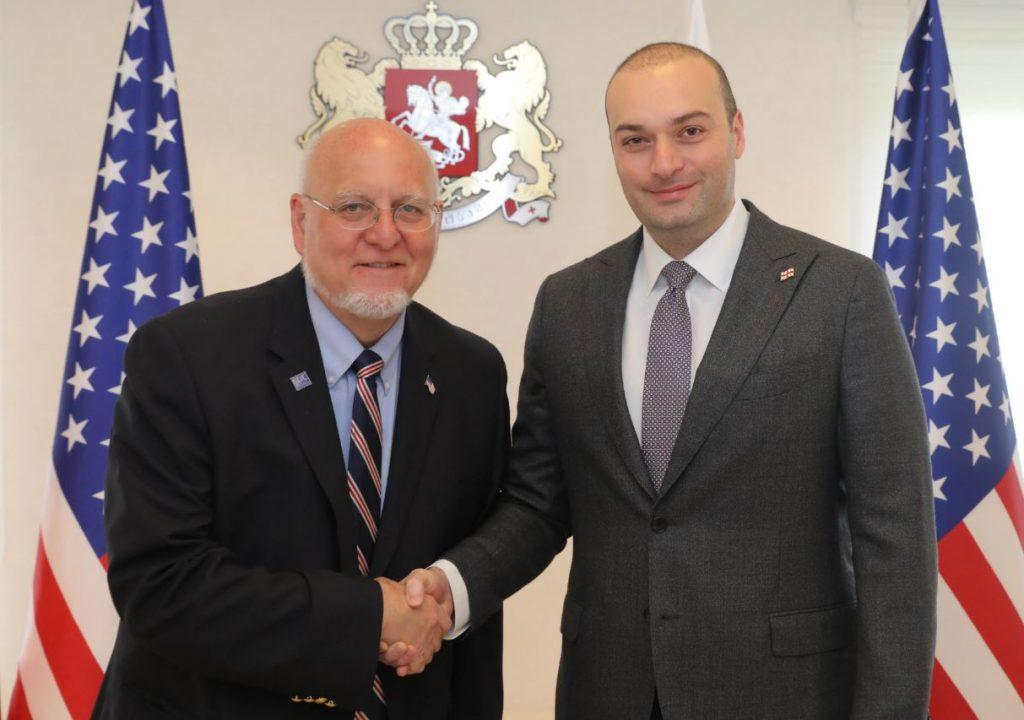 Mamuka Bakhtadze met Director of the Centers for Disease Control and Prevention (CDC) of US